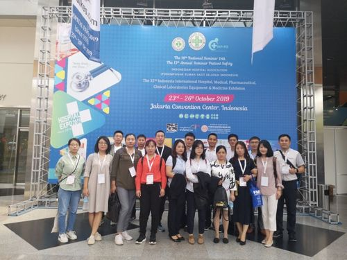 JIaxing Kenyue Medical Equipment Ltd  In 32nd INDONESIAN INT'L HOSPITAL EXPO – 2019