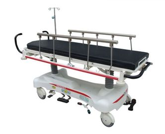 China Electric Emergency Stretcher Trolley Full Length 2120mm Easy Operation Adjustable supplier