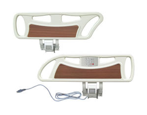 China Side Rails Hospital Bed Accessories PP With Electric Press Button Multi Function supplier