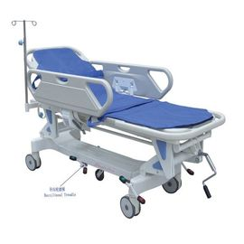 PP Side Rails Transport Trolley Hospital Patient Transfer Cart Multi - Functional