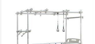 Durable Hospital Bed Accessories Orthopaedic Integral Fittings With Four Cranks