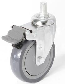 China OEM TPR Industrial Hospital Castors With Pp Core For Medical Shopping Cart supplier