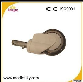 China Industrial Hospital Bed Casters , TPR PP Core 5 Inch Caster Wheels For Hospital Beds supplier