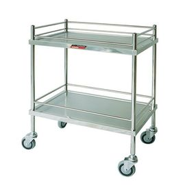 China Morning Care Nursery Medical Instrument Trolley Waste Collecting with Stainless Steel supplier