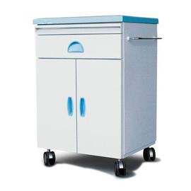 China Bule Hospital Bedside Tables Tool Cabinet With Shelf 692*490*720mm Steel Plastic Box supplier
