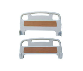 China Medical Head and Foot Board for Hospital Bed Parts Accessories Detachable PP Material supplier