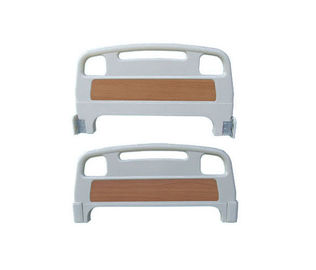Medical Head and Foot Board for Hospital Bed Parts Accessories Detachable PP Material