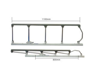 China Collapsible Side Rails Hospital Bed Accessories Nylon Stainless Steel Easy Installation supplier