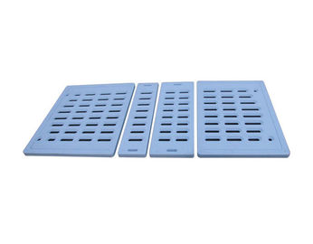China Thickness 35mm Four Parts Medical Bed Accessories , Bule Hospital Bed Attachments supplier