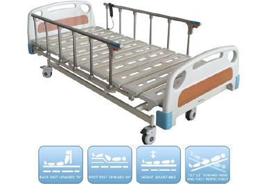 China 250kg Electric Nursing Bed Optional Headboard Color Adjustable Height Stainless Steel supplier