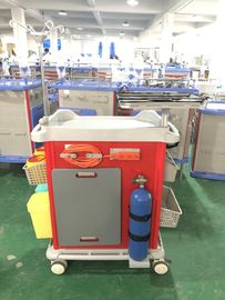 China Mute Wheel ABS Hospital Medicine Trolley supplier