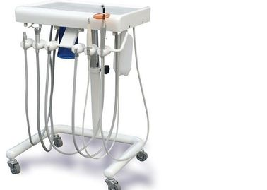 China High quality  dental delivery unit curing light ultrasonic scaler dental mobile cart supplier