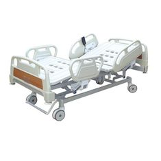 China Durable Electric Adjustable Hospital Bed Epoxy Coated Bed Frame And Mattress Base supplier