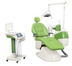 China Usa Impored Tube Colorful Integral Portable Dental Chair Mobile Cart For Hospital supplier