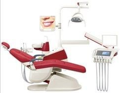 China Aluminum Backrest Dental Chair Equipment Without Oral Camera Syster And Handpiece supplier