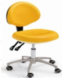 China Good Quality Dental Stool, Dentist Chair With Stainless Steel Dental Stool Base supplier