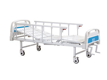 China Two Cranks Electric Hospital Bed , Electric Patient Bed Stainless Bed Frame supplier