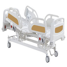 Three Functions Electric Nursing Bed , Electric Care Bed Hospital Furniture