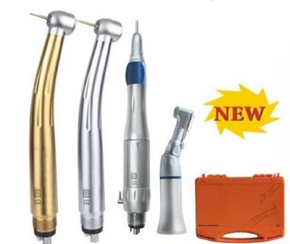 China Set Long Life Dental Chair Equipment Low Speed & High Speed Handpiece Kit supplier