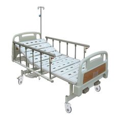 Movement By Hand Hospital Bed Collapsible Aluminum Alloy Side Rails With Three Optional Parts