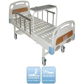 ISO And CE Certificate Manual Hospital  Bed Hospital Furniture With Dinning Panel