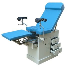 China Gynecological Examining Table Popular Gynecology Examination Bed With Drawers In Hospital Obstetric Delivery Table supplier