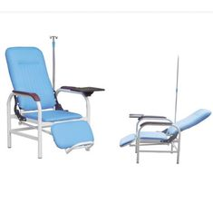 Hospital Use Blood Transfusion Chair Medical Chair Drainage Pole And Dining Panel Optional