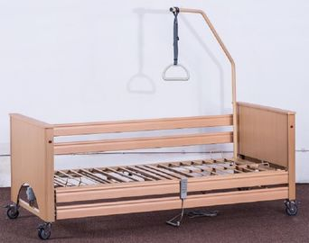 Five Functions Medical Hospital Bed Home Care Use Safety Working Load 190kgs