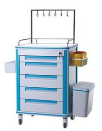 China CE Hospital Medical Trolley Cart Transfusion Integrated Nursing Anesthesia  Hospital Trolley supplier