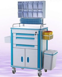 Drug Delivery Medical Trolley Cart White Color With Optional Components