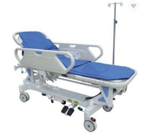 China Hospital Economic Transport Ambulance Stretcher CE ISO ABS Handrails Electric Motor supplier