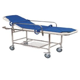 Medical Emergency Stretcher Trolley / Ambulance Stretcher Folding Cart