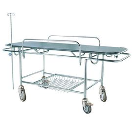 Manual Hospital Stretcher Trolley Emergency Patient Transport 2 Years Warranty