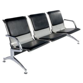 Metal Steel 3 Seater Hospital Waiting Area Chairs Public / Airport Waiting Chairs