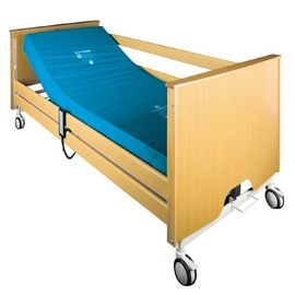 Hospital Medical Home Wooden Electric Nursing Bed With Five Functions