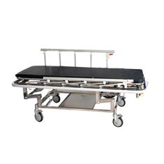 China Height Adjustable Emergency Stretcher Trolley Patient Transfer With Iv Stand And Castor supplier
