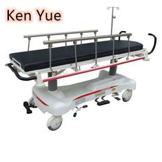 China Adjustable Ambulance Stretcher Trolley , Gurney Hospital Bed ISO / CE supplier