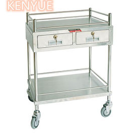 Custom Mobile Medical Storage Icu Medicine Trolley Cart OEM Available
