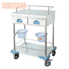 Hospital Instrument Medical Trolley Cart With 2 Layers 3 Layers Drawers