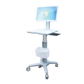 Easy Installation Computer Workstation Trolley Height 420*400mm Integrated High Strength