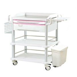 ABS Medical Procedure Trolley , Hospital Emergency Ward Equipment Trolleys Medical