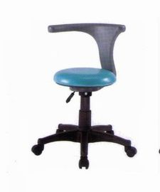 Plastic Dental Chair Equipment Assistant Leather Stool Adjustable Height