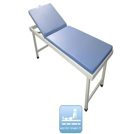 China Manual Adjustment Medical Examination Couch Water Proof And Washable Mattress Examination Bed factory