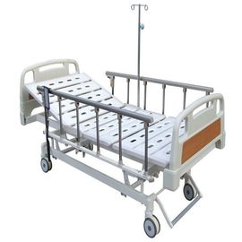 Collapsible Aluminum Alloy Side Rails Electric Nursing Bed With Three Function