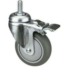 OEM TPR Industrial Castors With PP Core For Medical Shopping Cart