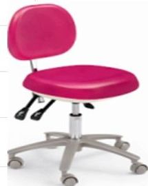 China Pu Seat Dental Chair Equipment , Dental Hygienist Stool For Dental Clinic factory