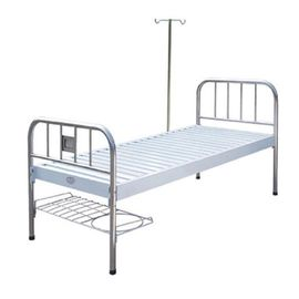 China Common Home Care l Manual Hospital Bed ISO And CE Stainless Steel Sundries Rack factory