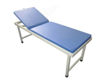 China Doctor Stainless Steel Portable Examination Couch Head Adjustable Waterproof factory